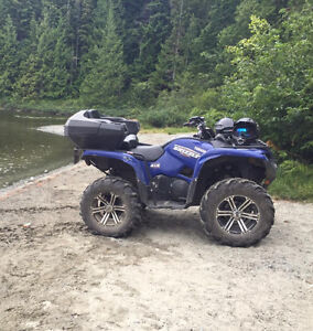 Stolen Yamaha Grizzly - Campbell River
