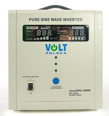 Off Grid Pure Sine Wave Inverter Charger SinusPro 3000E 48V /230V  AVR UPS