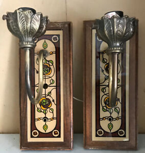 Wall sconces- great shape