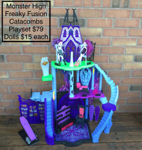TOYS SALE! - Monster High Toys: Doll Houses, Dolls & Acessories