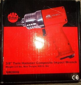 "NEW MAC TOOLS 3/8"" DRIVE TWIN HAMMER COMPOSITE IMPACT"