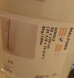Ikea Malfors Single Mattress