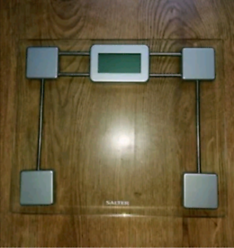 Salter digital bathroom body scale
