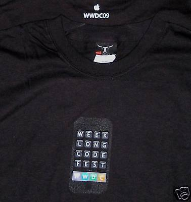 WWDC 2009 Apple Logo Large T-shirt - L