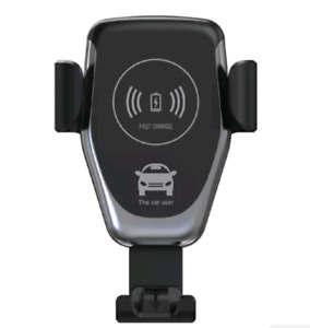 Fast wireless charger + car phone holder