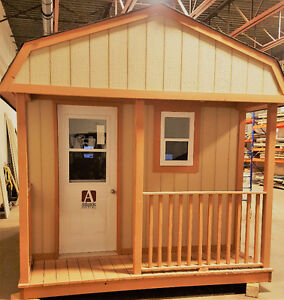 Deluxe Lofted Barn Style Shed