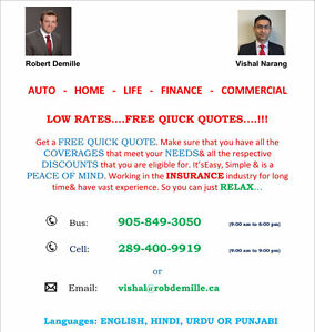 INSURANCE - AUTO * HOME * LIFE * FINANCE * COMMERCIAL