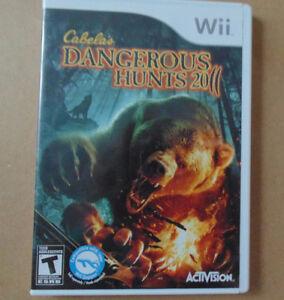 Cabela's Dangerous Hunts 2011  Wii game