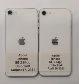 Like New Used Apple Iphone SE 2 64gb-128gb-256gb Unlocked