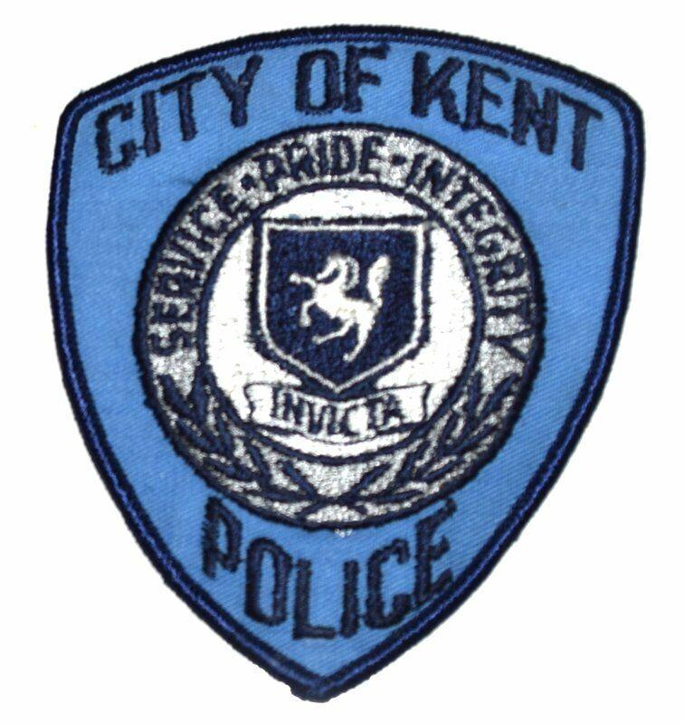 KENT WASHINGTON WA Sheriff Police Patch SHIELD HORSE CITY SEAL ~