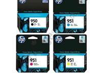 HP 950 951 ink catridge multipack