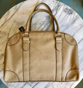 (NEW) VEGAN WEEKENDER XL SPORT BAG Khaki Overnight Travel Purse