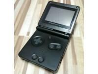 Gameboy Advanced SP Black