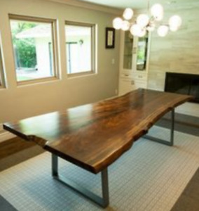 live edge dining tables from 499