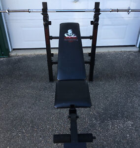 Weights and bench set