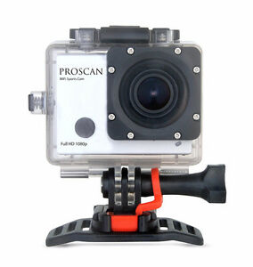 Proscan 1080P Sports & Action Video Camera with Wi-Fi