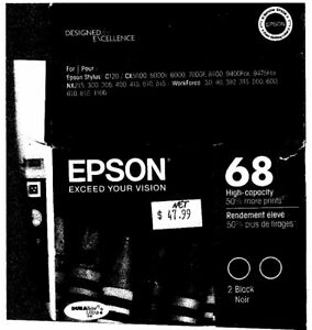 High capacity ink for Epson printer