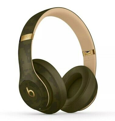 Beats by Dr. Dre Studio3 Wireless Over-Ear Headphones Beats Camo Forest Green