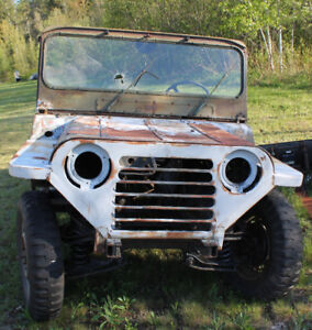 FORD MUTT ARMY JEEP SHELL