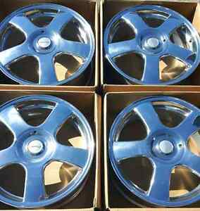 "*** 4 ALL NEW *** 17"" 5X4.5/100  ALUMINUM  WHEELS"