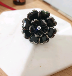 Black flower ring Greenvale Hume Area Preview