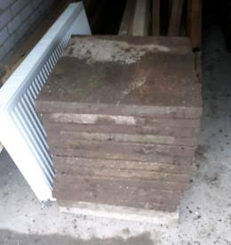 2x2 paving slabs 40 in total