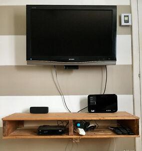 console/ meuble télé style bois de palette