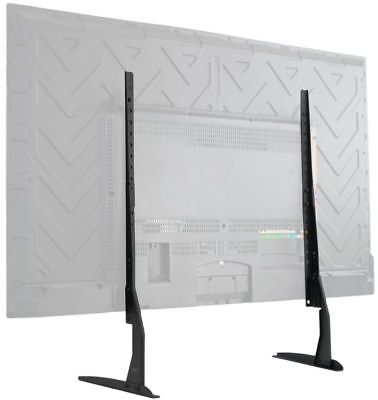 Tv Stands For Flat Screens 55 With Mount 60 Inch 65 Universal Table Top Black (Tv Stand For 60 Inch Flat Screen)