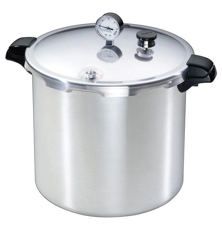 Presto  Brushed Aluminum  Pressure Cooker and Canner  23 qt.