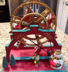 Santa & Reindeer Ferris Wheel