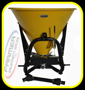 3 point hitch Spreader for sand, salt, fertilizer, & seed