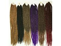 Crochet hairs extension, weave braid expression