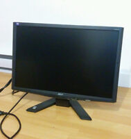 """Acer X X223WB 22"""" Widescreen LCD Monitor"""