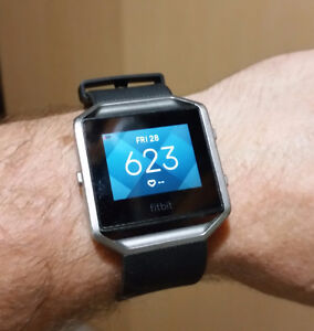 FITBIT BLAZE ACTIVE/SPORT TRACKER - LIKE NEW, SPARE BAND - 100%