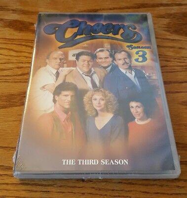 Cheers  Season Three  Dvd  3 Ted Danson Shelley Long Classic Comedy Tv Show New