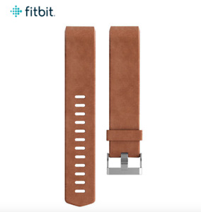 Brand New Sealed Fitbit Charge 2 Leather Band - Brown