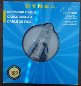 Dynex 250ft CAT6 Network Cable Kit w/ Crimper & Ends