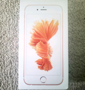 Iphone 6s - 32 gb - rose gold - unlocked - mint condition