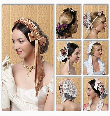 Schnittmuster Historische Kopfbedeckung
