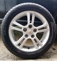 4 mags avec pneus 205-50-16. Bolt Pattern: 5x114.3 mm , Les mags