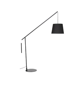 HANGING ARCH FLOOR LAMP - MATT BLACK NEW BOXED