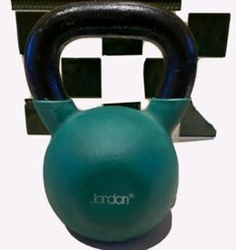 jordan 20kg urethane coated iron kettlebell
