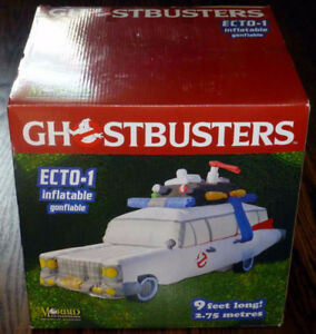 New 9-Feet Long Morbid Halloween Inflatable Ghostbusters Ecto-1