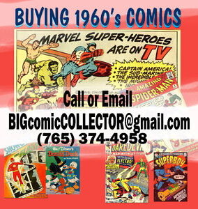 $-CASH-$ Paid For Comic Books