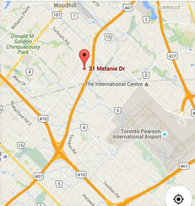 COMMERCIAL UNIT FOR LEASE BRAMPTON close to hwy410/407