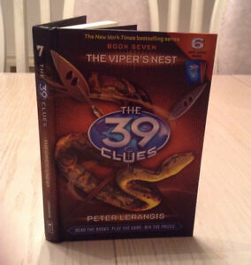 The 39 Clues Book 7 : THE VIPER'S NEST - Hardcover