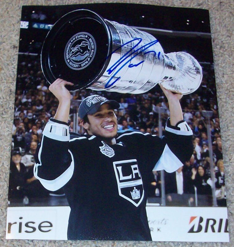 JORDAN NOLAN SIGNED L.A. LOS ANGELES KINGS STANLEY CUP 8x10 PHOTO A w/PROOF