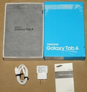 "Like New 8"" Samsung Galaxy SM-T350 Tab A 16GB Android 7.1 Tablet"