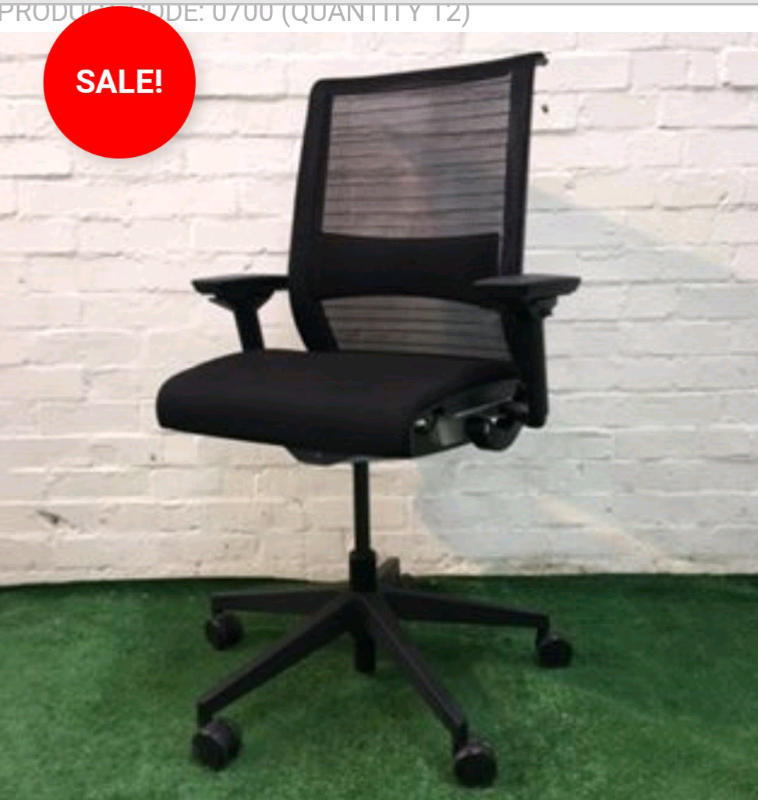 new concept bedb2 bc115 Steelcase Think mesh chair cheap used office furniture   in North Weald,  Essex   Gumtree