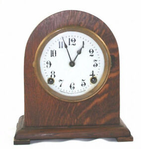 ARTHUR PEQUEGNAT KITCHENER 8 DAY MANTLE CLOCK BEDFORD $200.00